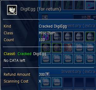 digimon masters online digiegg, crack egg, egg
