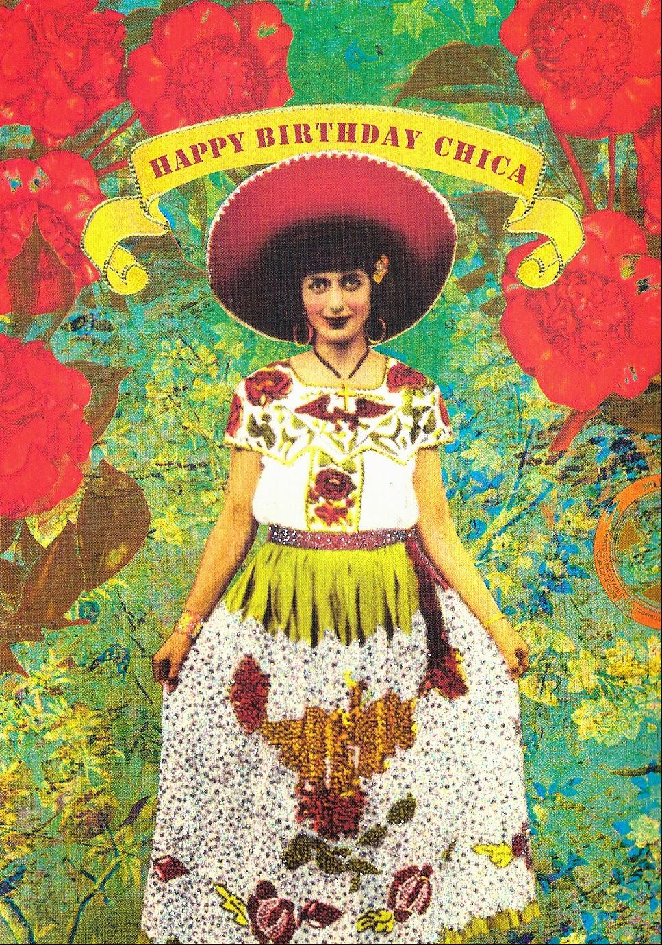 dolce vita postal service., Birthday card