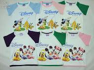 disney t-shirt  (RM18/pcs)