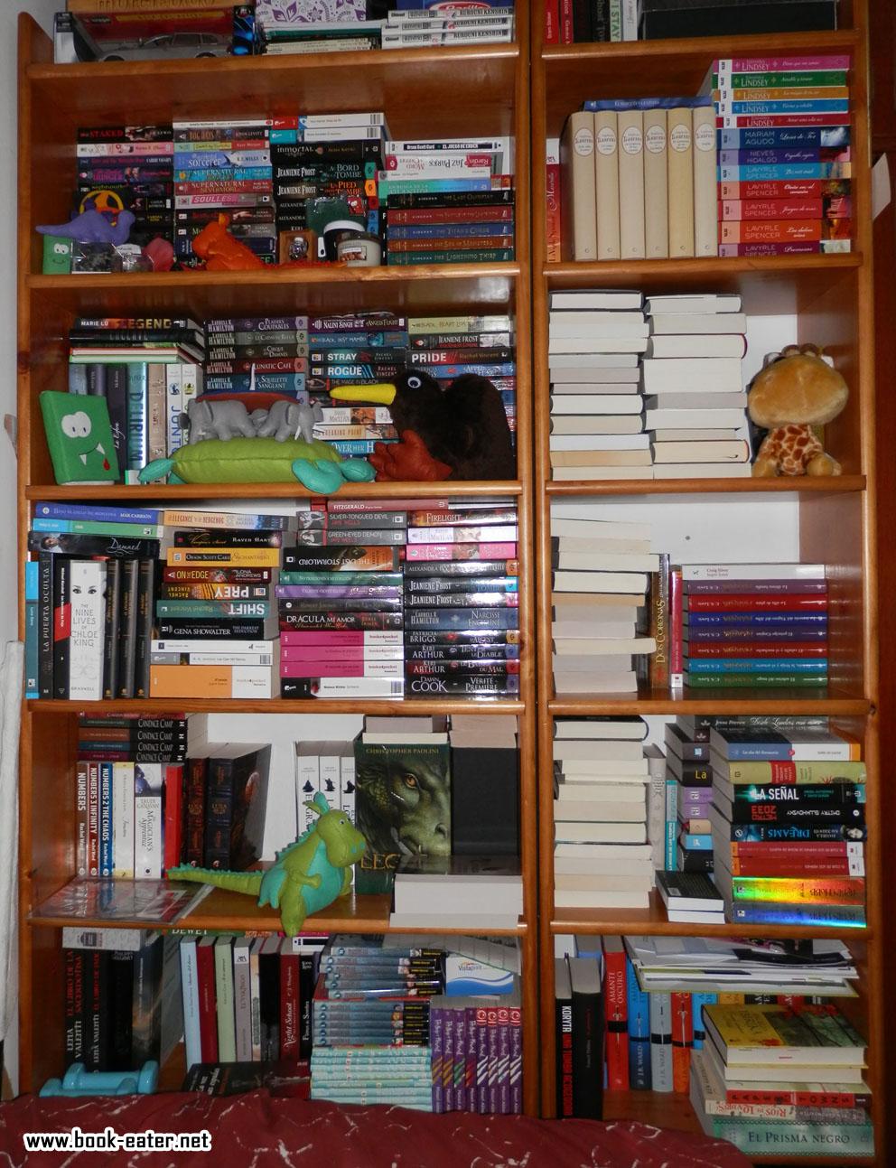Book eater pase to por mis estanter as - Estanterias de libros ...