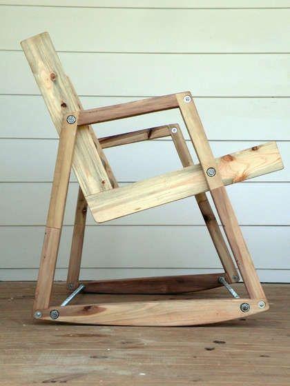 Cadeira reutilize madeira