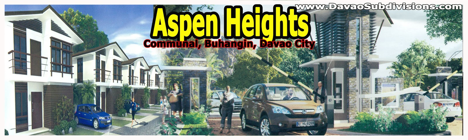 MidClass Subdivisions in Davao City Aspen Heights