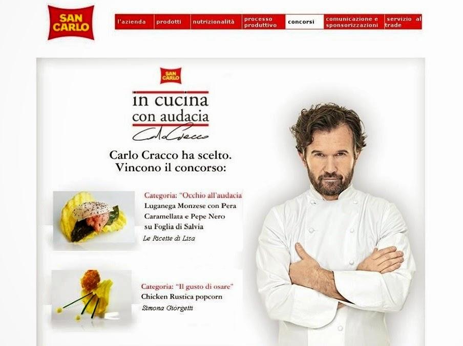 """VINCITRICE DEL CONCORSO VOTATO DALLO CHEF CARLO CRACCO """"IN CUCINA CON AUDACIA"""""""