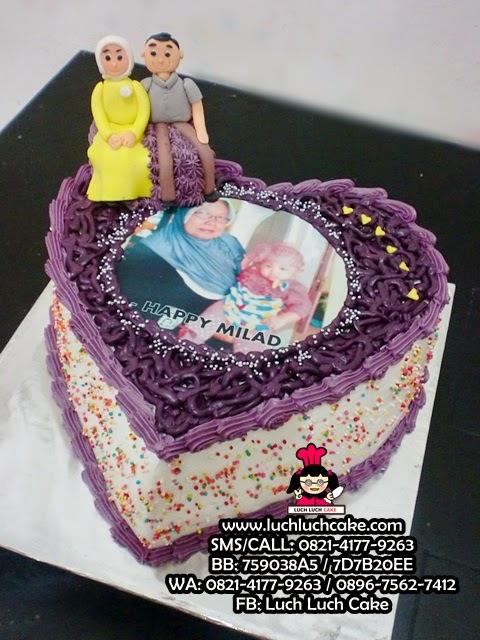 Kue Tart Love Untuk Ibu Daerah Surabaya - Sidoarjo