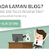 Blogger Jana Income Dengan Advertorial.My
