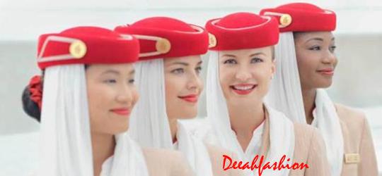 Jilbab ala Pramugari Emirates Chic