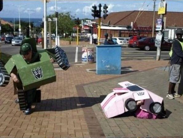 Lejaun se blog - Funny vloeraf: Brakpan Transformers