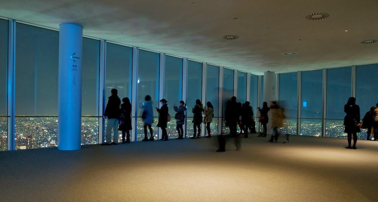 ハルカス300 展望台 夜景