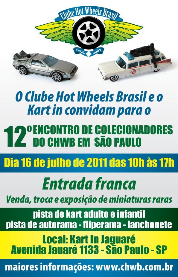 Jornal Do Autódromo Convite 12 Encontro De Colecionadores Do Chwb