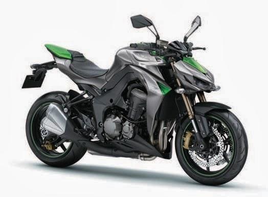 New Kawasaki Z1000 2014
