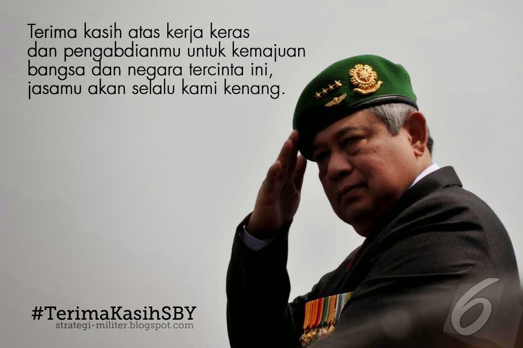 Terima Kasih SBY