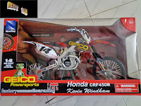 IN STOCK Die-cast 1/6 Scale Honda Kevin Windham CRF-450 Dirt Bike/Scrambler/Race Bike