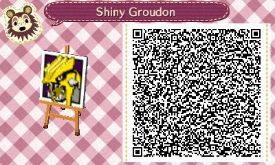 Shiny Groudon Pattern