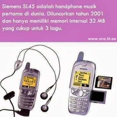 Handphone Musik Pertama di Dunia