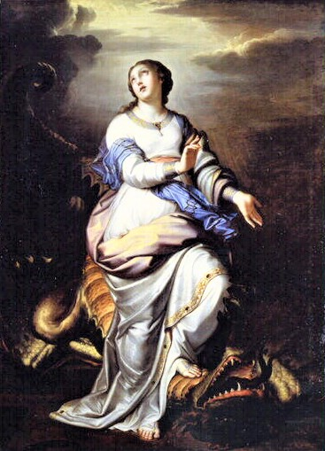 Saint Margaret of Antioch – Dragon Slayer