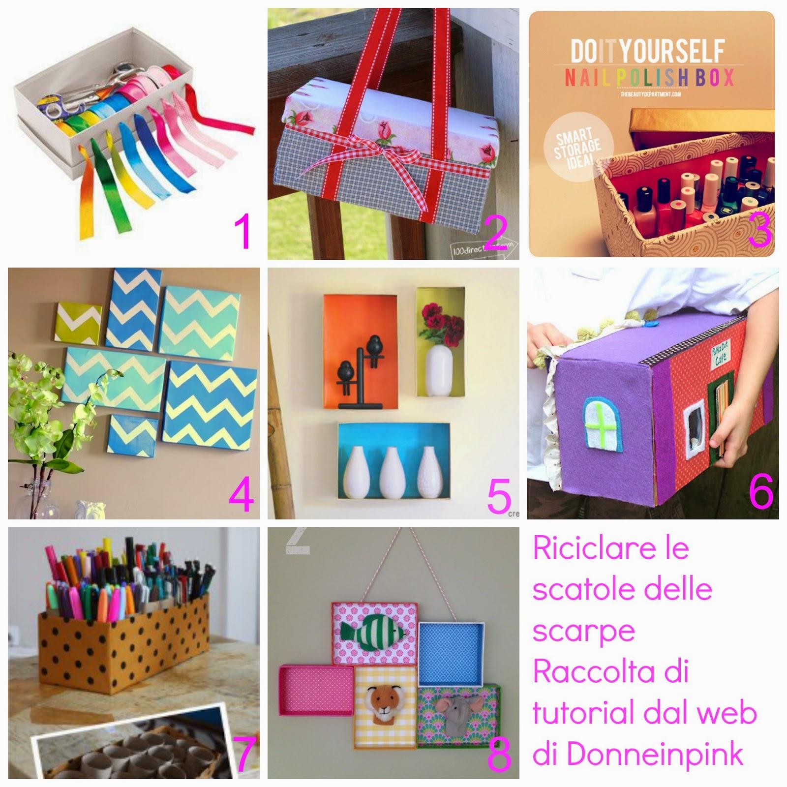 Riciclare le scatole delle scarpe riciclo scatole 14 - Idee utili per la casa ...