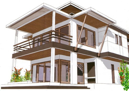 rumah mewah minimalis on Rumah Minimalis Modern