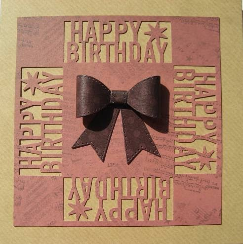 Quick & easy birthday cards made with Kanban Kandi Core card