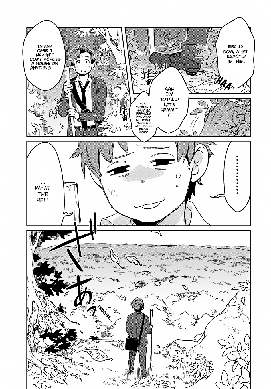Isekai ni Kita Mitai dakedo Ikanisureba Yoi no Darou Chapter 1 page 12 - MangaSim.com