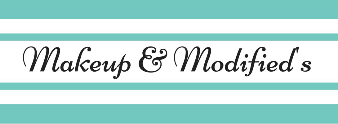 Makeup and Modifieds