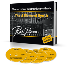 Rob Papen 'The 4 Element Synth: The secrets of Subtractive Synthesis' Book Review