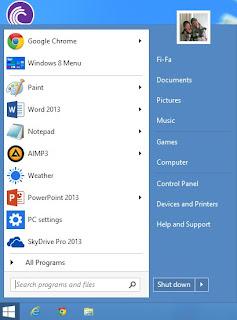 Windows 8.1 Akan Tampil dengan Tombol Start