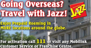 Jazz International Roaming