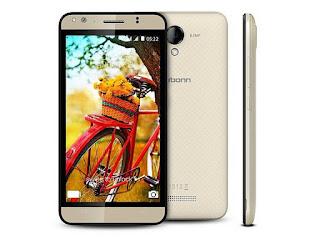 Photo:- Karbonn Titanium mach 5 smartphone