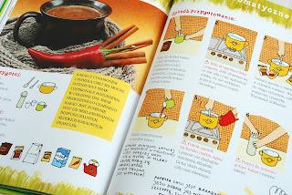 Wnętrze książki, przepis na aromatyczne kakao