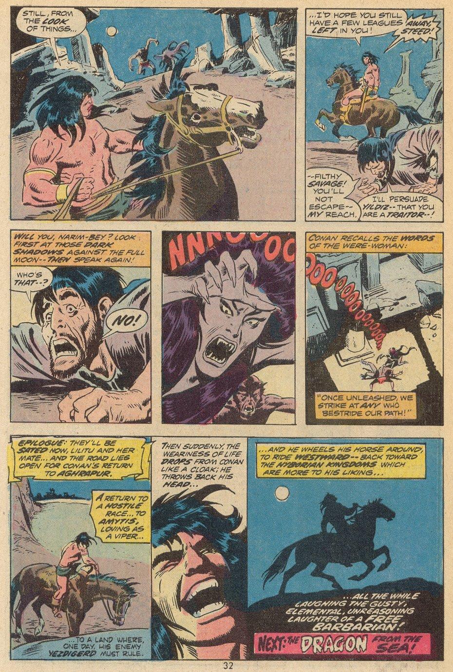Conan the Barbarian (1970) Issue #38 #50 - English 23