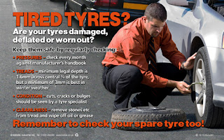 Tyre checks poster
