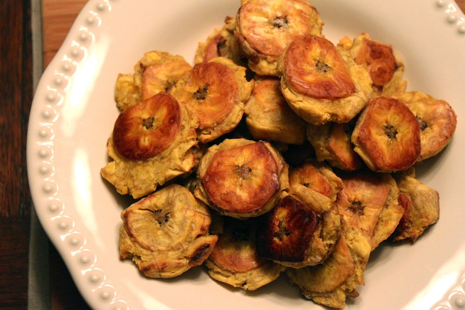 Explore Love Eat: Baked Tostones