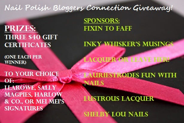 Nail Polish Bloggers Connection Group Giveaway