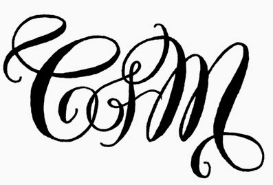 I Was Hired By Samantha Scott Events To Create This Playful Monogram For A Bride And Grooms Wedding Ive Included The Black White Original Since Its