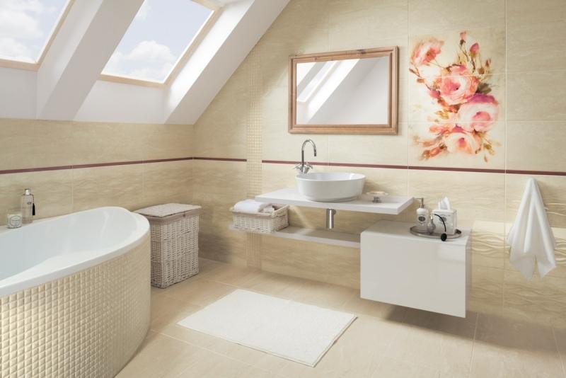 Make modern bathroom in beige tips and ideas bathroom for Beige bathroom bin