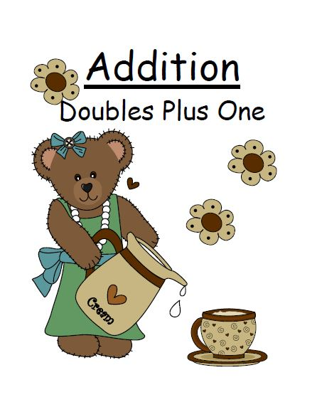 Fern Smith's Classroom Ideas Addition Doubles Plus One Math Center Game