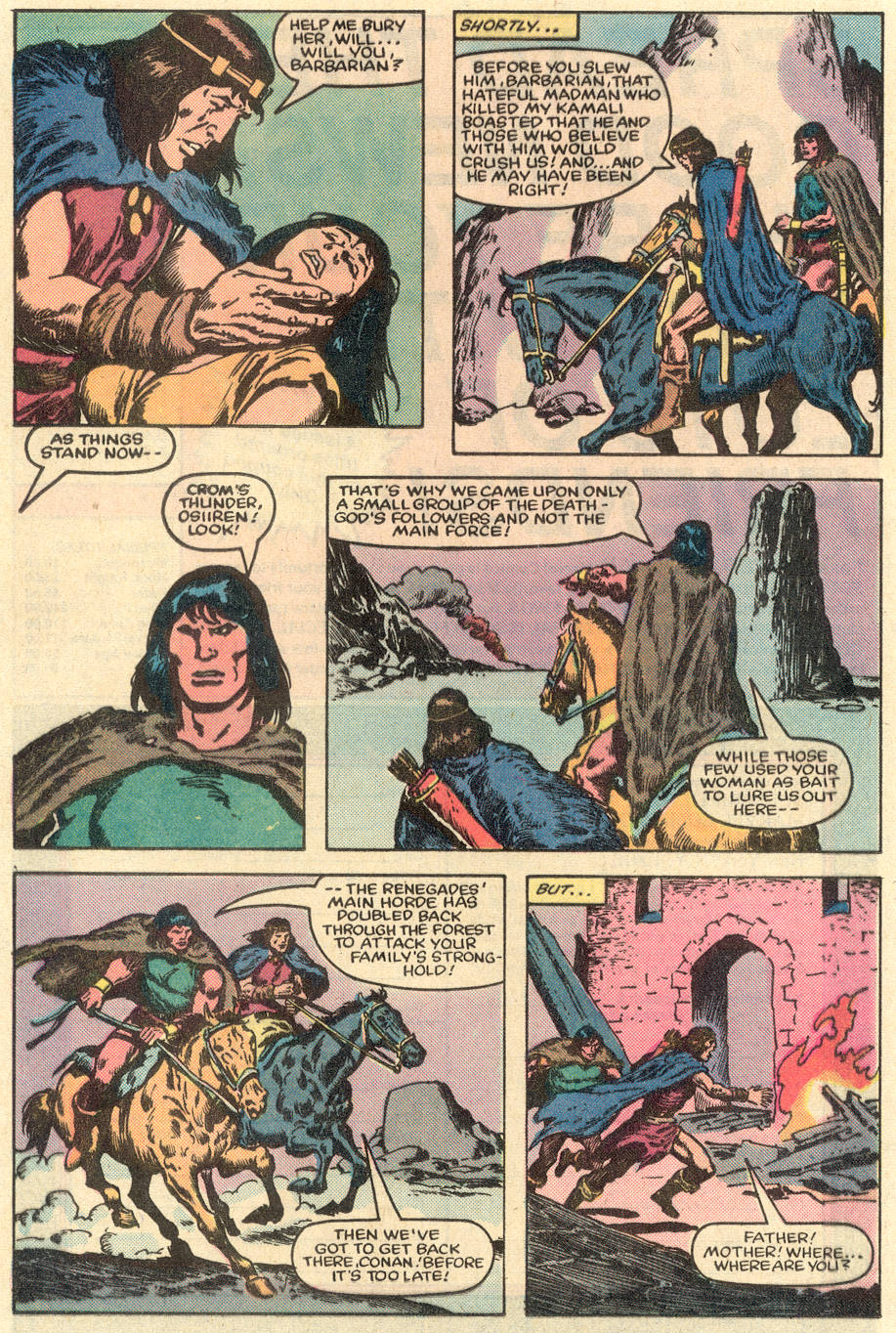 Conan the Barbarian (1970) Issue #151 #163 - English 17