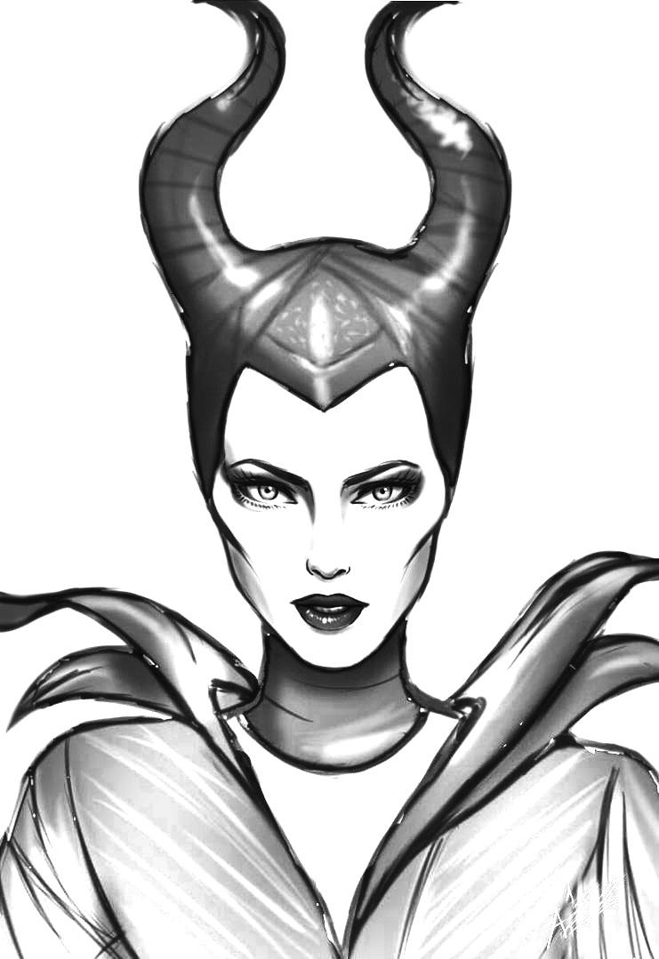 Maleficent malvorlagen