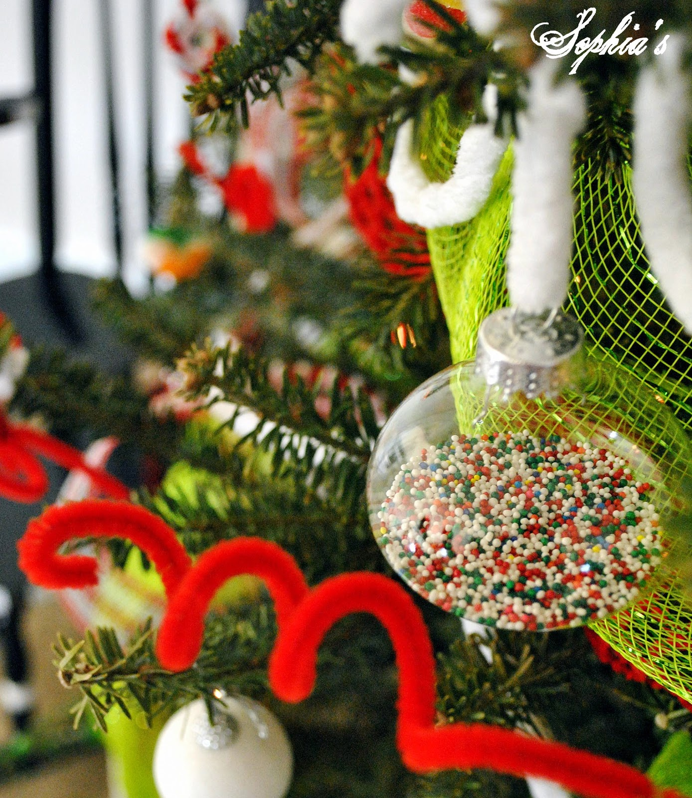 Kid's Candy Christmas Tree