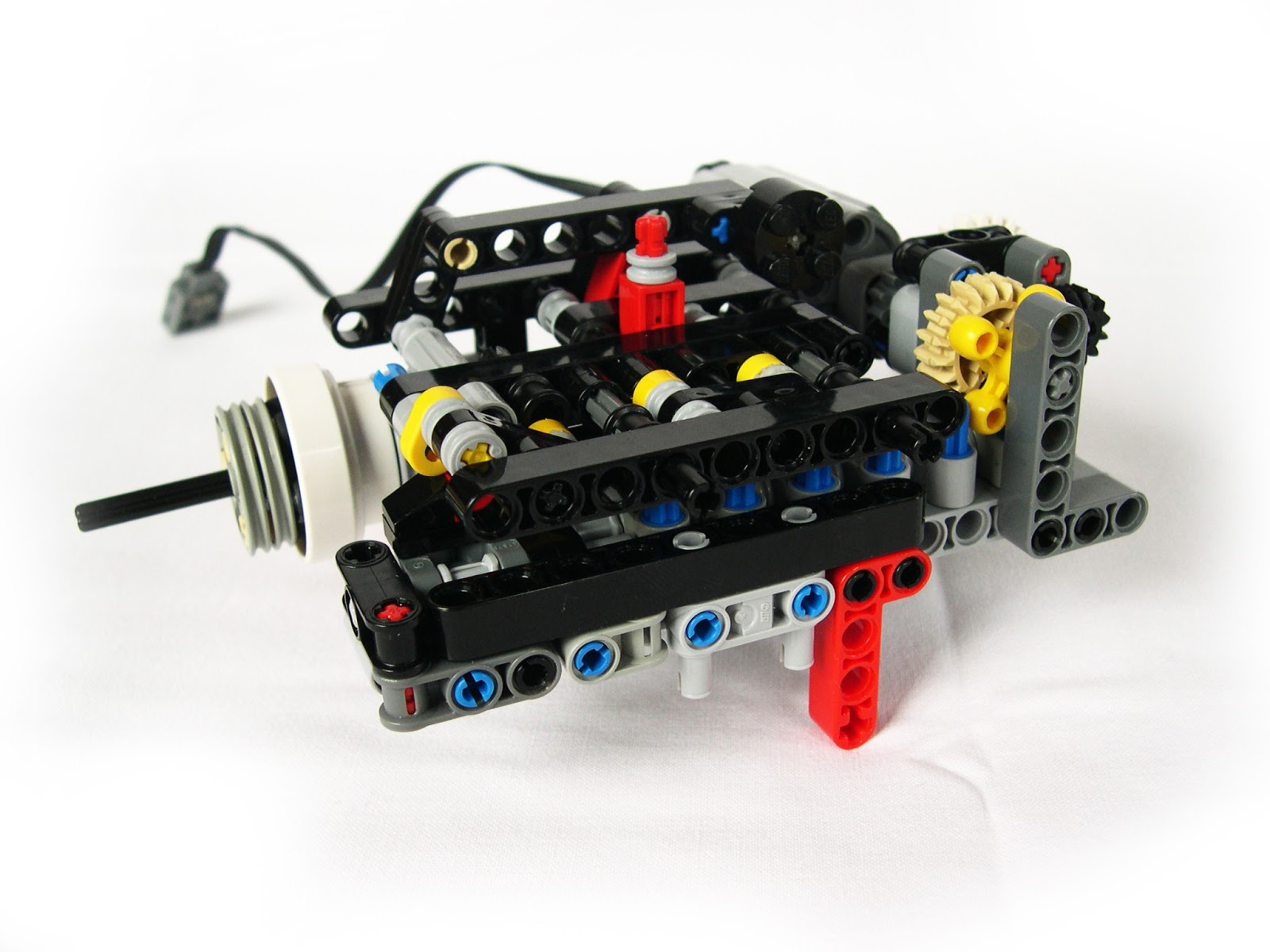 lego technic steering instructions