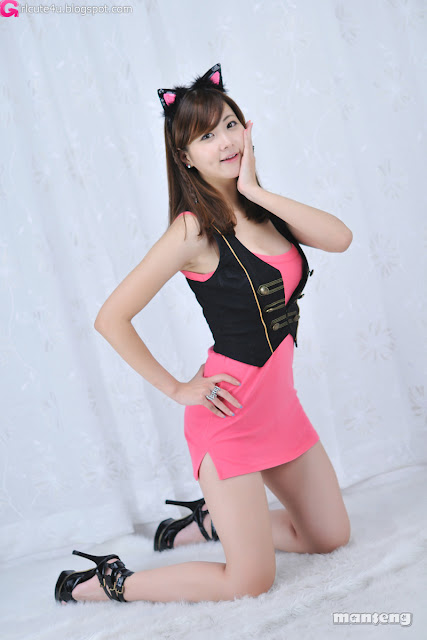 4 Jung Se On - Pink Kitty-very cute asian girl-girlcute4u.blogspot.com