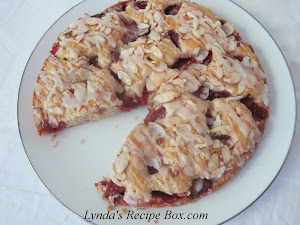 Strawberry Almond Coffee Cake
