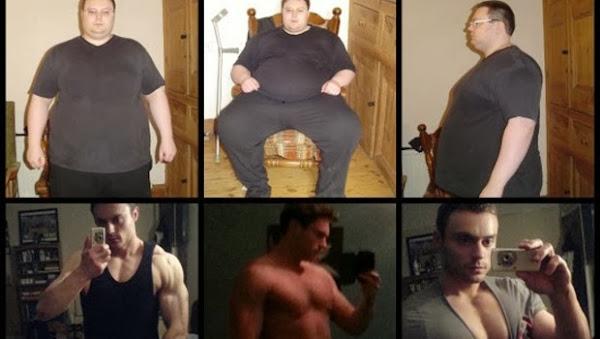 Hombre obeso pierde más de 115 libras y se convierte en entrenador físico