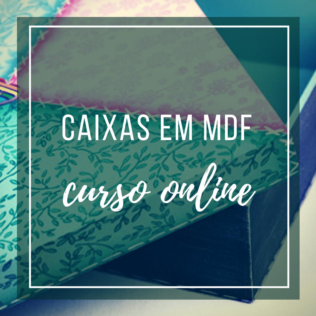 Curso Online de Caixas em MDF