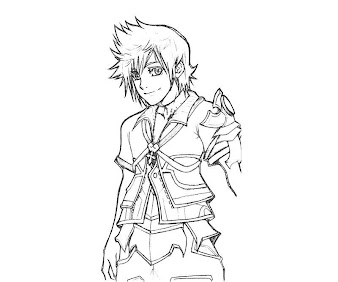 #3 Ventus Coloring Page