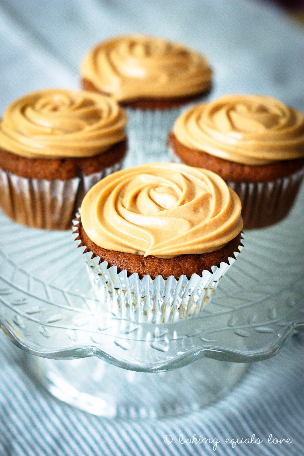 baking = love: Sticky Date & Dulce de Leche Cupcakes with ...