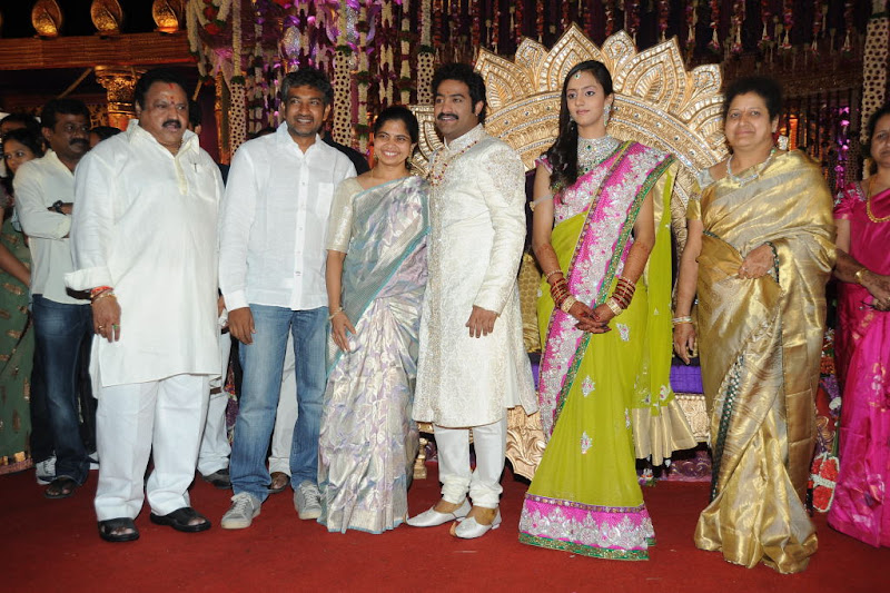 Celebrities  Jr NTR  Pranathi s Marriage glamour images