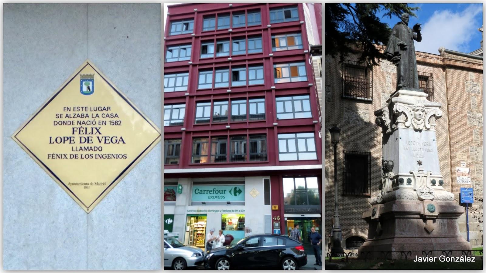 Las im genes que yo veo tras las huellas de los escritores del siglo de oro en madrid - Casa vega madrid ...