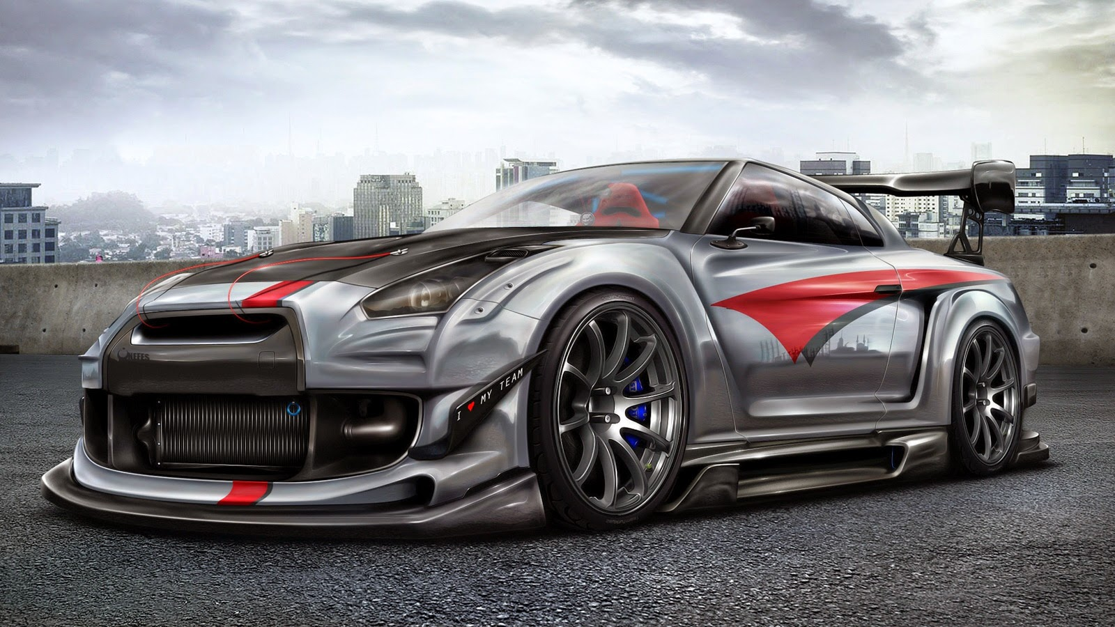 Nissan GTR Sport Custom Wallpaper Free