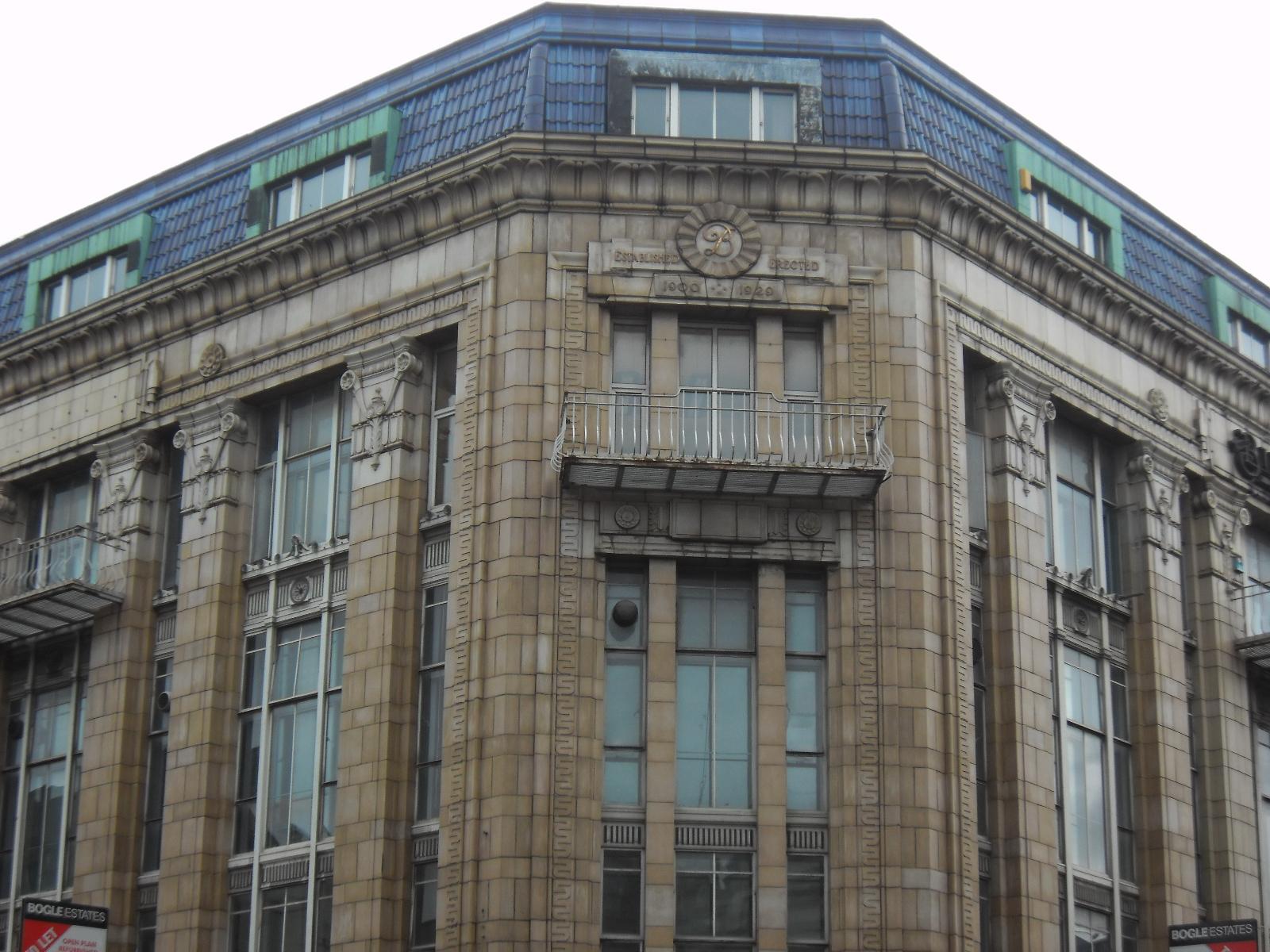 Former Burton Men Department Store With Store Deco